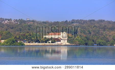 Beautiful resort by Mandovi river in Goa