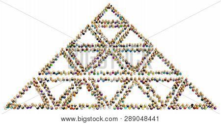 Crowd Small Symbolic Image & Photo (Free Trial) | Bigstock