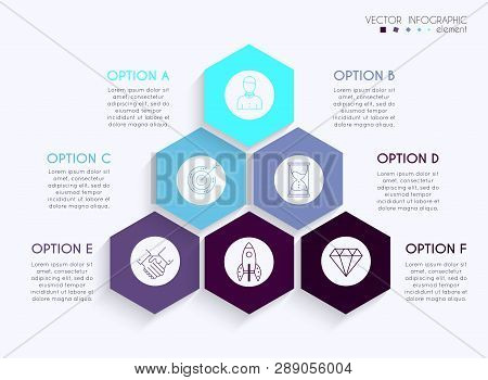 Vector Info Graphics For Your Business Presentations. Can Be Used For Website Layout, Numbered Banne