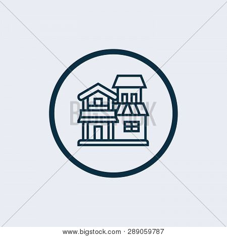 Home Icon Vector In Modern Flat Style For Web, Graphic And Mobile Design. Home Icon Vector Isolated