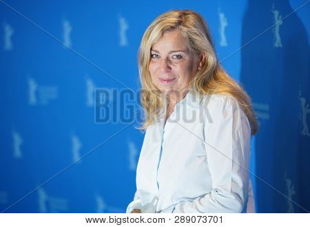 Lone Scherfig poses at the 'The Kindness Of Strangers' photocall during the 69th Berlinale International Film Festival Berlin at Grand Hyatt Hotel on February 07, 2019 in Berlin, Germany.