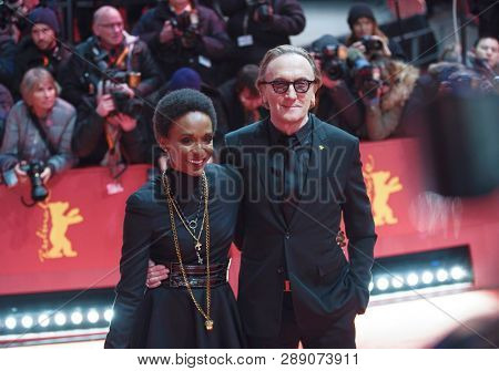 Lindiwe Suttle and Marius Mueller-Westernhagen attend the 'The Kindness Of Strangers' premiere during the 69th Berlinale  Festival Berlin at Berlinale Palace on February 07, 2019 in Berlin, Germany.