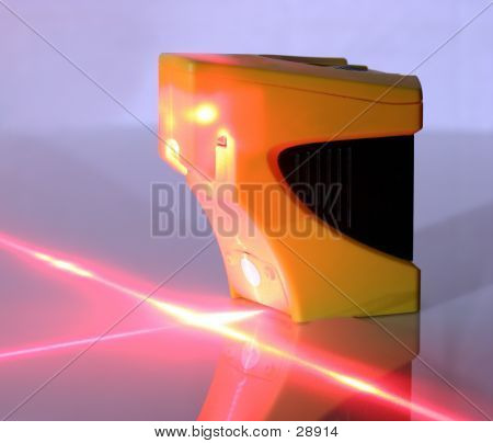 Lighted Laser Level