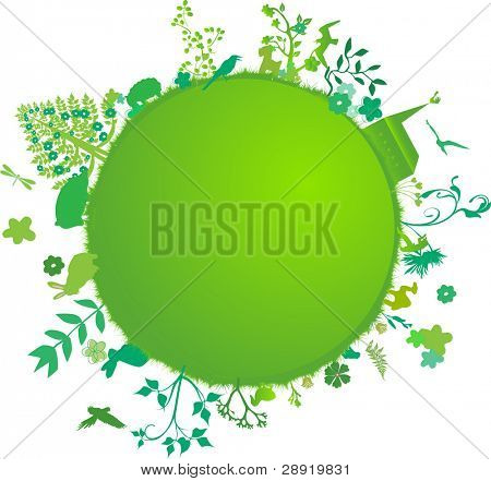 beautiful green earth