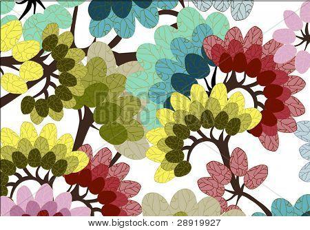 big leaves wallpaper