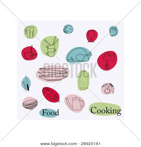 food and cooking element