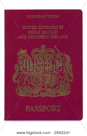 European - United Kingdom - Passport