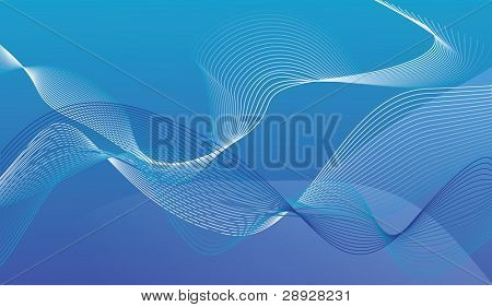 Abstract background from intertwining lines