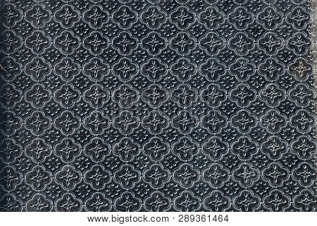 Gray Texture Of A Piece Of Glass With A Pattern