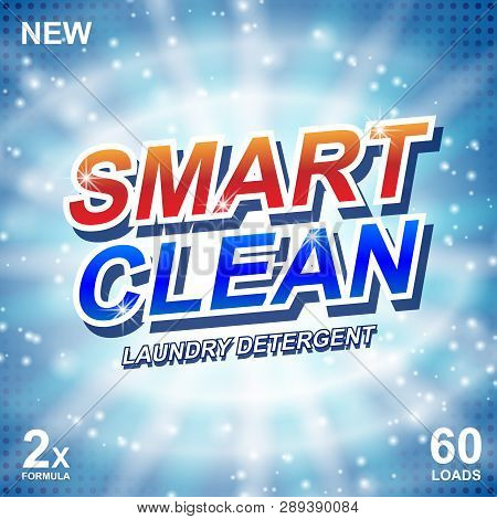 Smart Clean Soap Vector & Photo (Free Trial) | Bigstock