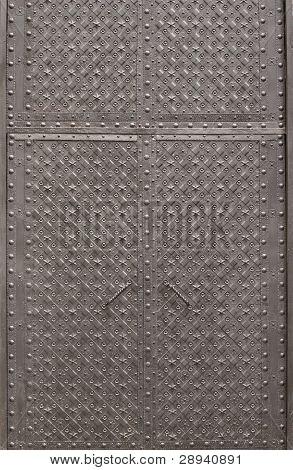Black Metal Doors