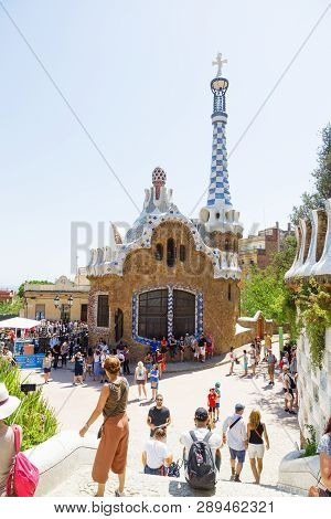 Visit To The City Of Barcelona