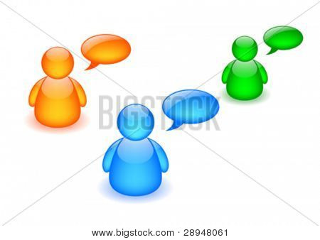 Discussion board icon