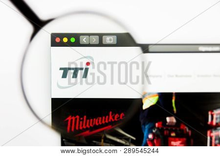 Los Angeles, California, Usa - 13 March 2019: Illustrative Editorial, Techtronic Industries Website