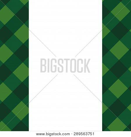 Background Patron Green Irish Vector Illustration Graphic Design