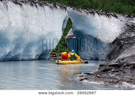 Kayaking Valdez Glacier