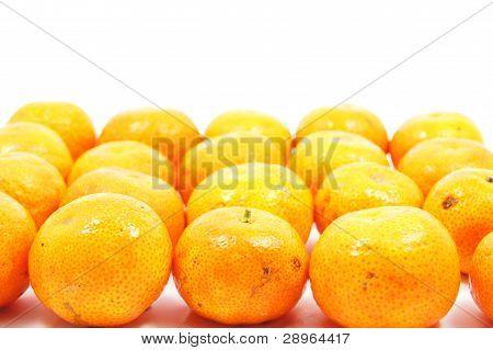 arrangement of orange