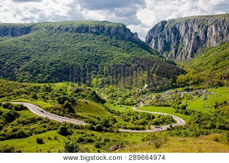 Gorge In Romania Is Called Cheile Turzii