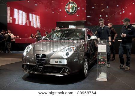 Brussels, Auto Motor Expo Alfa Romeo Mito