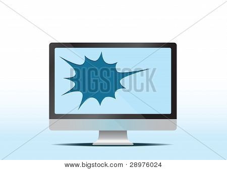 broken lcd screen
