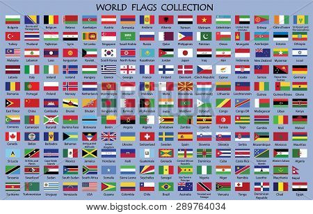 World Flag Collection,world Flag Collection With Names.world Countries Flags With Country Names.worl