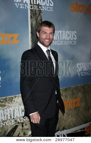 LOS ANGELES - JAN 18:  Liam McIntyre. arrives at  the