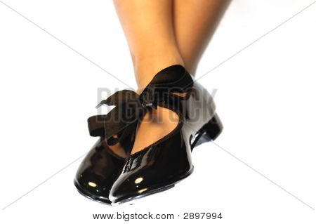 Feet Of A Tap Dancing Girl