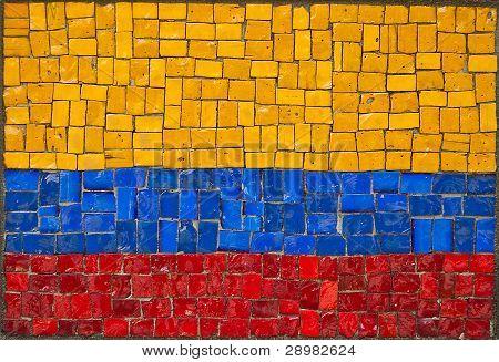 Bandiera della Repubblica di Colombia