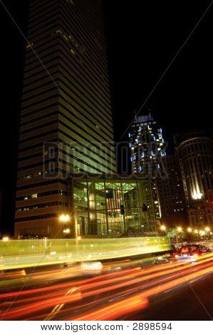 Boston Streets At Night