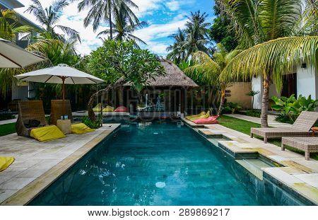 Swimming Pool Of Resort In Bali, Indonesia