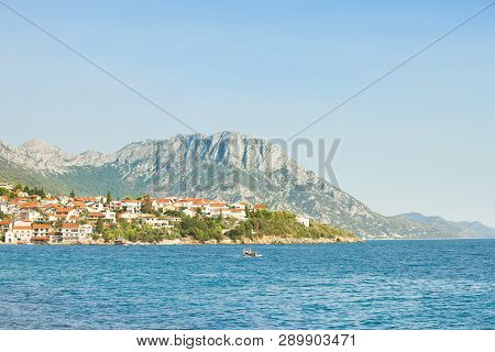 Kapec, Dalmatia, Croatia, Europe - Viewpoint Lookout Upon The Beautiful Coast Of Kapec