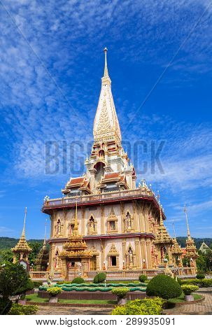 The Most Important Of Buddhist Temples Of Phuket Is Wat Chalong Or Formally Wat Chaiyathararam In Ph
