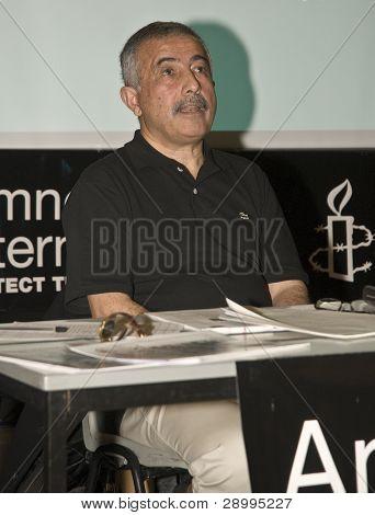 Jamshid Ahmadi Speaking At The Amnesty International South West Regional Conference