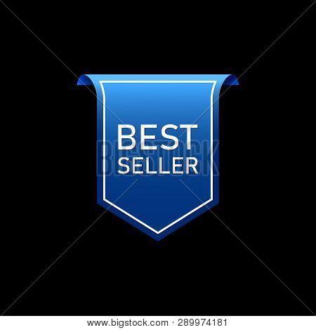 Best Seller Label, Best Seller Sticker Vector Illustration Eps10, Label Best Seller Quality Image De