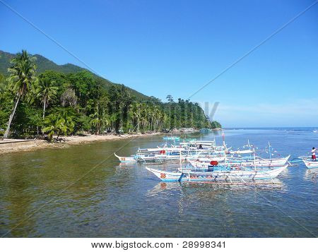Beach in the Philippines.