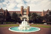 Florida State University historic buildings in Tallahassee Florida poster