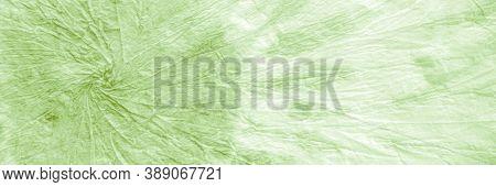 Tie Dye Swirl. Marsh Crumpled Paper. Watercolor Background. Lawny Paintbrush Artwork. Tie Dye Patter