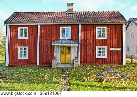 Folk Museum In Hallabrottet Kumla Sweden October 2020
