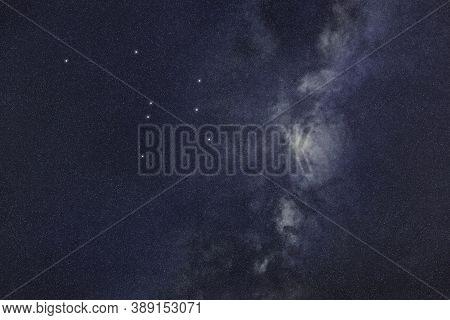 Ara Star Constellation, Night Sky, Cluster Of Stars, Deep Space, Altar Constellation
