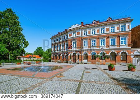 Historic House On The Square In Cesis, Latvia