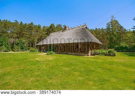 Old House In Rural Area, Riga, Latvia