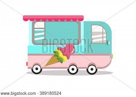 Ice Cream Machine. Ice Cream Machine From My Childhood.