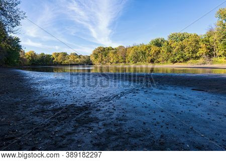 Minnesota River And Forests Of Fort Snelling State Park Minnesota