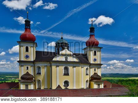 Church Of Our Lady Of Consolation Is A Roman Catholic Parish Church In Dobra Voda Near New Castle, C
