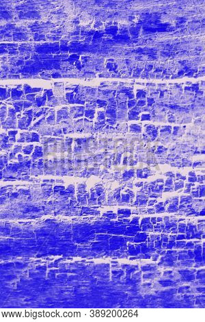Deep Blue And White Patchy Background, Wooden Texture