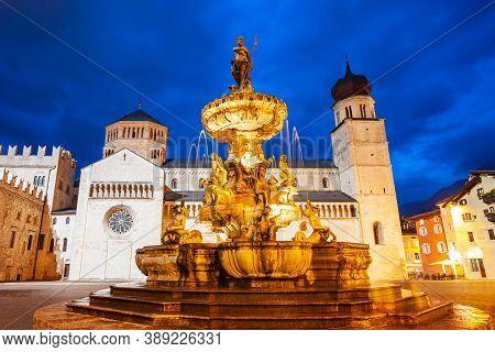 Trento Cathedral Or Duomo Di Trento Is A Roman Catholic Cathedral In Trento City In Trentino Alto Ad
