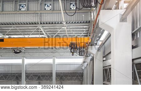 Overhead Crane Or Bridge Crane Consists Of Parallel Runways With A Bridge Between Column Also Includ