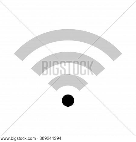 Wi-fi Internet Symbol, Wifi Free Signal Vector Illustration, Wireless Mobile Icon, Wi Fi Free