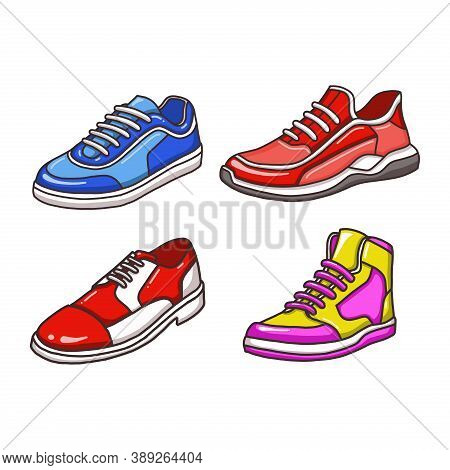 Shoes Icon Isolated On White Background From Fashion Collection. Shoes Icon Trendy And Modern Shoes