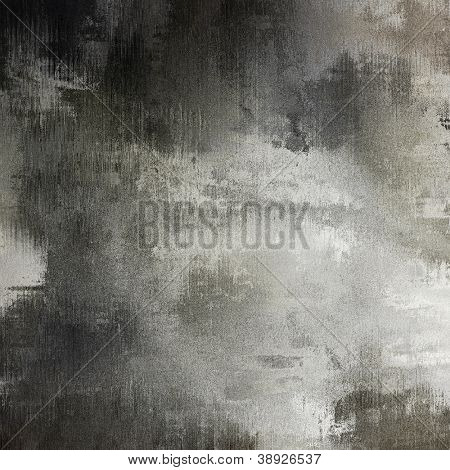 art abstract grunge black and white textured background